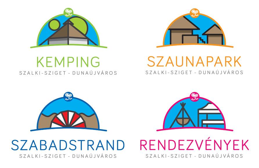 A dunaújvárosi Szalki-sziget szolgáltatásai