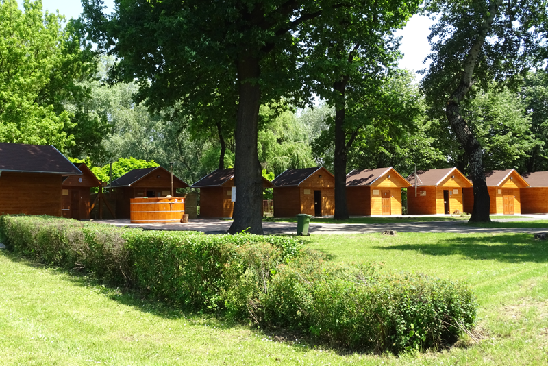 Kultúrált, ligetes környezetben várja vendégeit a dunaújvárosi szaunapark