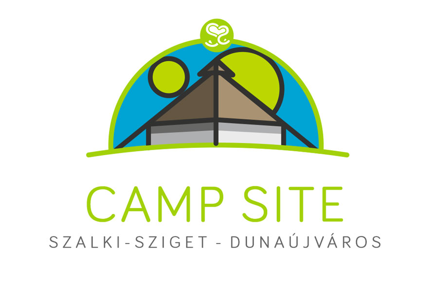 Camp site by the river Danube in Dunaújváros